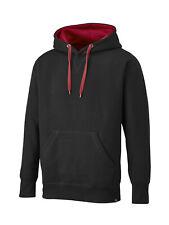 DICKIES Sweatshirt TWO TONE Baumwolle Polyester mit Kordel und Strickbund NEU