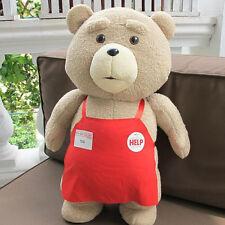 Teddy Bear Toy Apron Clothes Stuffed Animal Ted Bear Gaint Plush Doll