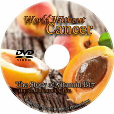 DVD Cancer Treatment Free Vitamin B17 Laetrile Non Drug Approach Nutrition Cures