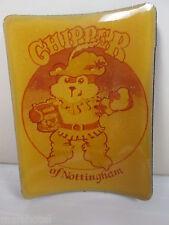 HERR'S POTATO CHIP COMPANY MASCOT CHIPPER OF NOTTINGHAM CHIPMUNK VINYL MAGNET