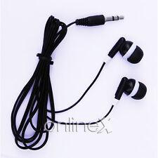 Auricular Negro Universal para Reproductor de Música. Mp3, Mp4 a1075