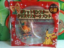 Pokemon Figure Chimchar Ornament 2008 Holiday Bell Balloon Pokeball Coca Cola