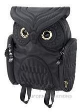 Owl KIDS SMALL BLACK 3D backpack MORN CREATIONS bag INFANT *Not for Adult*legend