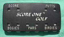 Golf Scorekeeper w/Clasp