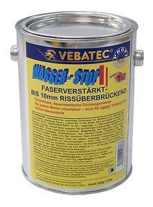 (24,63€/kg) Vebatec - Wasser-Stop faserverstärkt  2,8kg