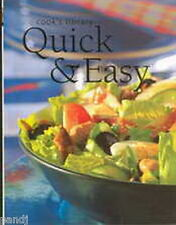 Cook's Library QUICK & EASY 2002 HC/DJ