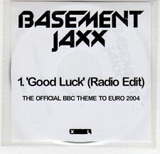 (EF539) Basement Jaxx, Good Luck - 2004 DJ CD
