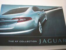 2009 Jaguar XF Collection Deluxe Sales Brochure NEW Original ab