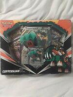 Pokemon TCG Copperajah V Box Collection Sword & Shield 4 Booster Packs