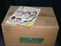 Rare  PETE ROSE # 1  CINCINNATI REDS Sealed Box of 300 Comic Books