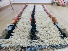 Vintage Moroccan rug Hand Woven Rug AZILAL /Berber Carpets 6'6''/2'5''