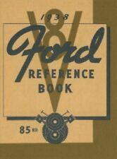 Ford 1938 85Hp Car & Pickup Truck Owner's Manual 38