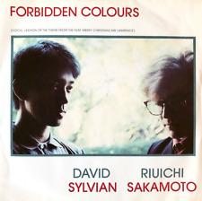 """DAVID SYLVIAN & RIUICHI SAKAMOTO - Forbidden Colours (7"""") (VG-EX/VG)"""