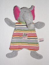 Sigikid-Wamba Bamba elefante gris multicolor mantita schnuffeltuch Comfort *