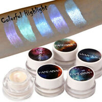 Holographic Shade Women Shimmer Shine Powder Highlighter Lip Gloss Eye Shadow