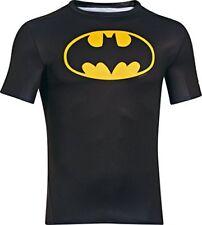 Under Armour vecchio Ego compressione Camicia Manica corta Batman Black XL