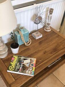 Solid oak coffee table Oak Furniture Land Brand French Farmhouse Rustic