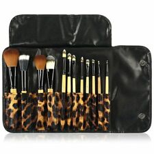 12pcs Makeup Brushes Set Powder Foundation Eyeshadow Eyeliner Brush kit Case Bag
