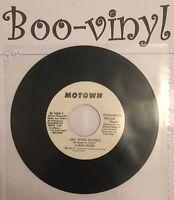 "DIANA ROSS - PROMO One more chance -  7"" Single Motown / Soul Rare Ex"