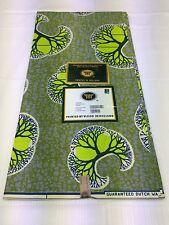 African HOLLAND Wax Print Soft Super coton fin 6 YD (environ 5.49 m)