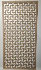 Radiator Cabinet decor. Screening Perforated 3mm & 6mm thick MDF laser cut LB1