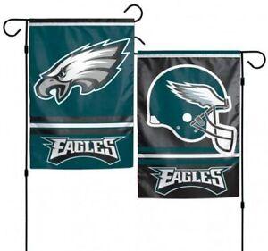 """NFL Philadelphia Eagles Double Sided 12"""" x 18"""" Garden Flag"""