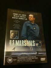 U.S. Marshals DVD 1999 Special Edition Tommy Lee Jones Wesley Snipes Irene Jacob