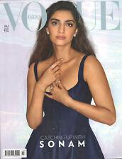 VOGUE INDIA Juli 2021 -Bollywood- Englischsprachiges Mode-Magazin aus Indien