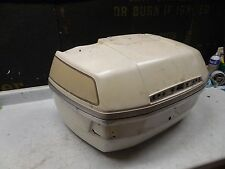 yamaha venture royale 1300 xvz1300 rear trunk luggage case cream white 88 1988