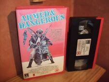 Armed & Dangerous - Big  Vhs box original
