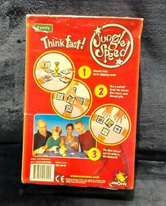 Rare Asmodee Jungle Speed Family Think Fast Game NEW Sealed