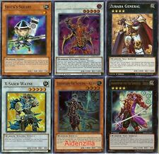 Yugioh Six Samurai Deck - Legendary Shi En, Kizan, Great Shogun Shien Lot