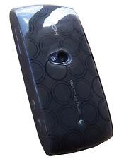 Housse semi rigide noire pour Sony Ericsson Vivaz