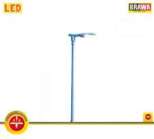 BRAWA 84049 LED-Bahnsteigleuchte mit Stecksockel, 70 mm hoch  (H0) ++ NEU & OVP