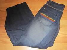 South Pole Jeans NWT 36 rainbow stripes