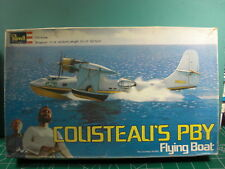 COUSTEAU'S PBY*REVELL*1/72*KIT#H-576*VINTAGE 1976*UNSTARTED*L@@K