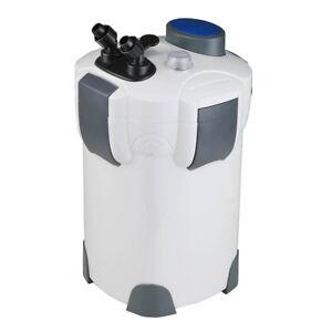 100 Gallon Aquarium Fish Tank Canister Filter + 9W UV Sterilizer 370 GPH