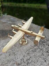 More details for stunning brass lancaster bomber