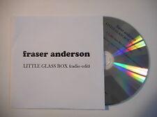 FRASER ANDERSON : LITTLE GLASS BOX ( RADIO EDIT ) [ CD SINGLE PORT GRATUIT ]