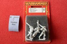 Games Workshop Warhammer Empire Greatsword Greatswords Metal 3 Figures Freeguild