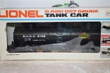 O Scale Trains Lionel Sunoco Triple Dome Tank car 9138