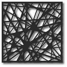 Bild Wandbild 3D Wandtattoo Acryl Mobile Abstrakt Muster Fäden