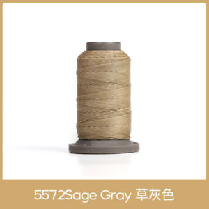 WUTA 0.45mm Leather Sewing Round Waxed Thread Polyester Hand Sewing Cord 2ND