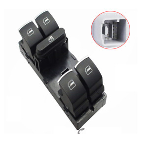 5ND959857 Front Power Master Fensterschalter Für VW Golf CC JETTA PASSAT TIGUAN