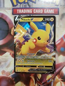 Carte Pokémon Pikachu V SWSH061 Promo Française Neuve