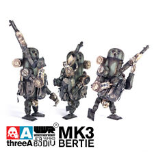 1/12 threeA Ashley Wood WWRp World War Robot JEA Yumiko 80 DIV Bertie MK3 3A