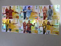 SET COMPLETO TOP MASTER 6 CARTE WORLD CUP BRAZIL 2014 ADRENALYN XL PANINI MESSI