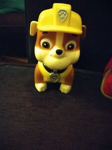 Paw Patrol Jumbo Action Pack Rubble Pup Figure Moving Parts 🐾