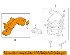 VOLVO OEM 08-15 S80 Air Cleaner-to Intake Tube Duct Hose 31338460