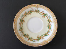 Noritake China Olympia 680 Yellow / Green Leaves Vine, Floral - TEA CUP SAUCER